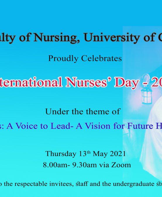 International Nurses' Day – 2021