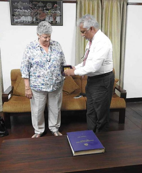 School of Nursing and Midwifery, Edith Cowan University, Australia to collaborate with University of Colombo