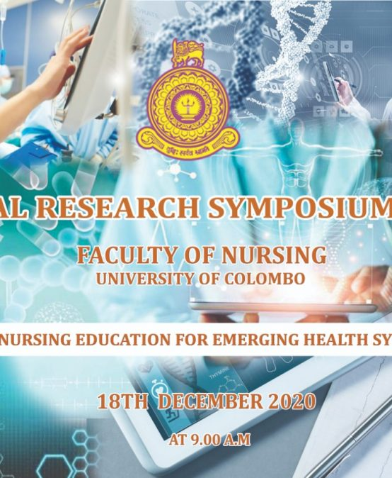 Annual Research Symposium 2020, Faculty of Nursing