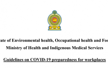 Guidelines on COVID-19 preparedness for workplaces