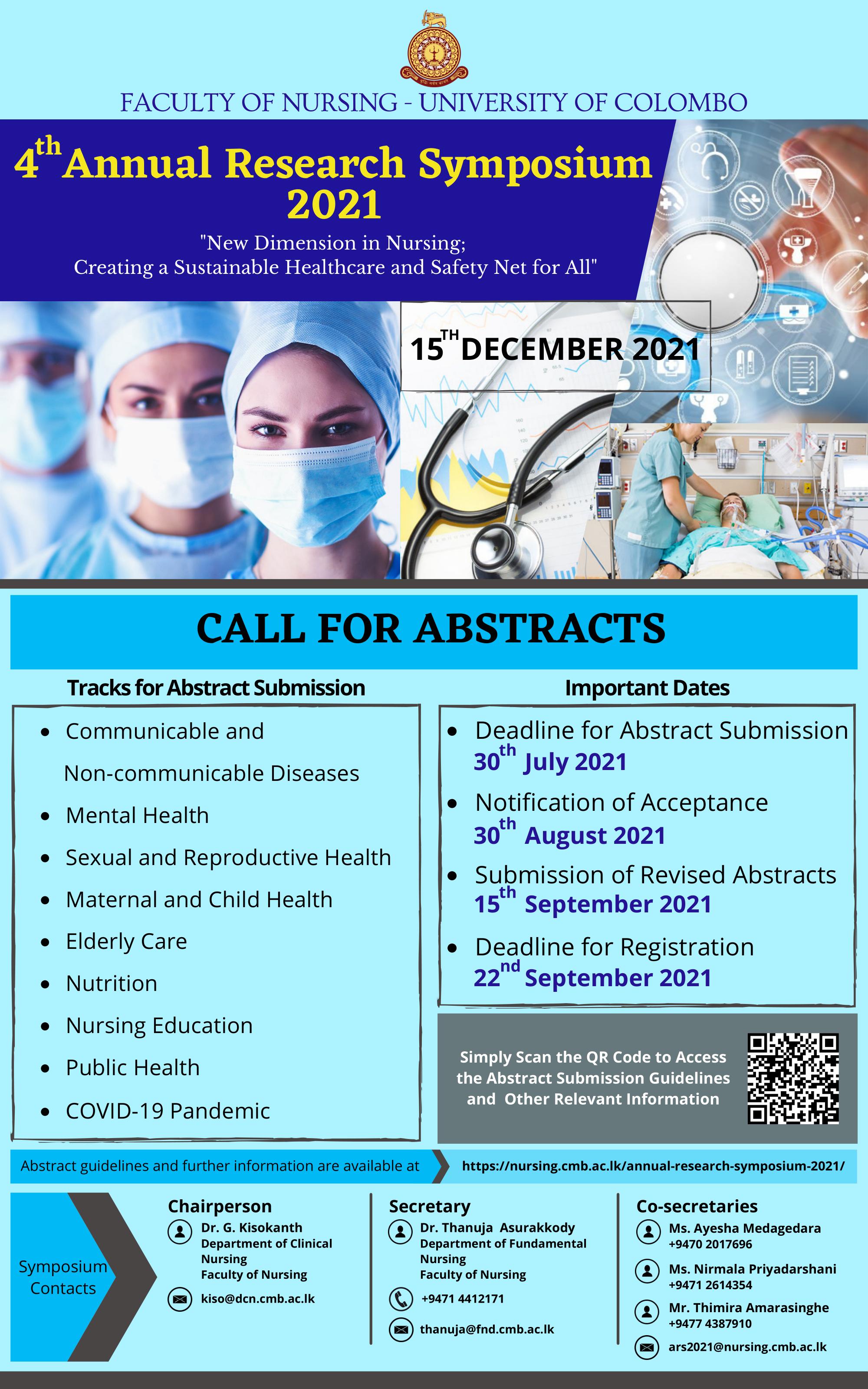 Annual Research Symposium – 2021